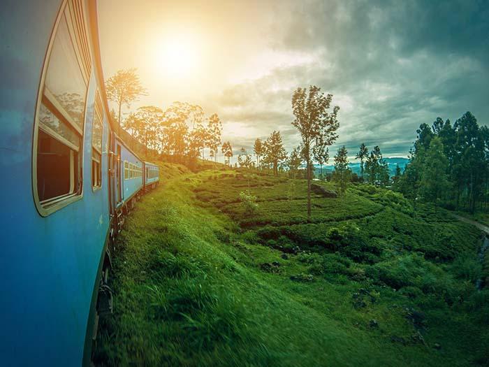 Zug in Sri Lanka