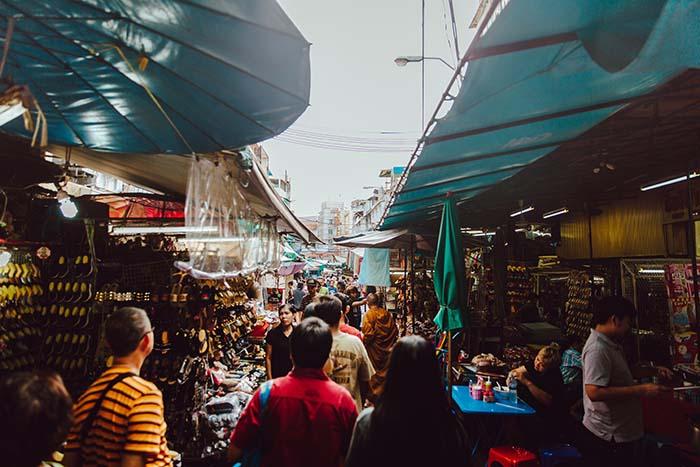 Ein Besuch der Bangkok Märkte ist ein einmaliges Erlebnis