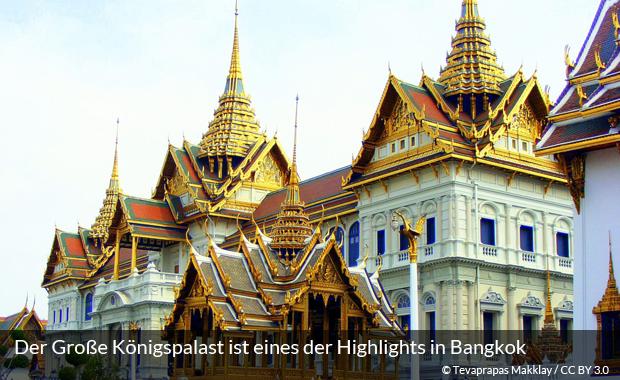 Der Große Königspalast ist eines der kulturellen Highlights in Bangkok
