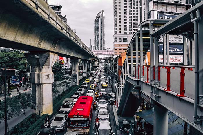 BTS Skytrain Bangkok Tipps