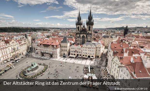 Der Altstädter Ring in Prag