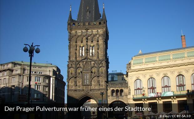 Der Prager Pulverturm