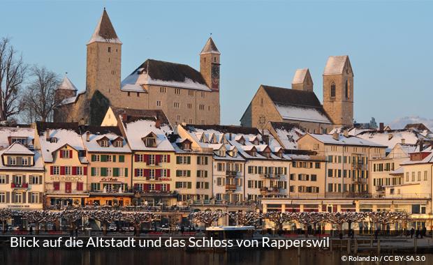 Altstadt und Schloss von Rapperswil