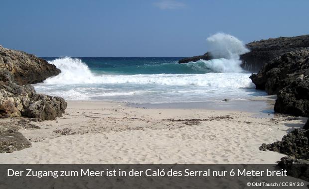 Die Bucht Caló des Serral auf Mallorca