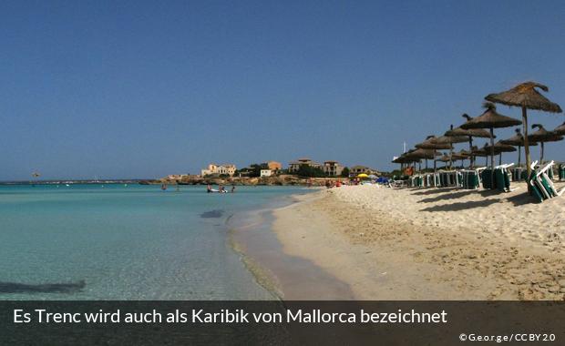 Der Strand Es Trenc auf Mallorca