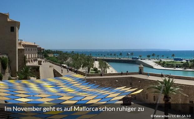 Blick über Palma de Mallorca