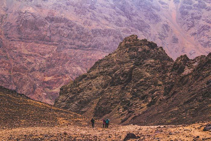 Toubkal in Marokko