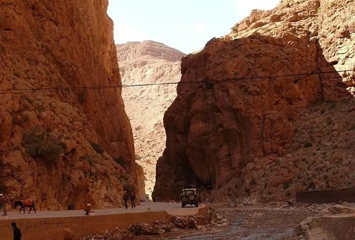 Todra Schlucht in Marokko