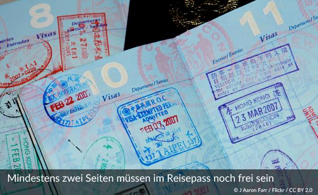 dauer kosten reisepass