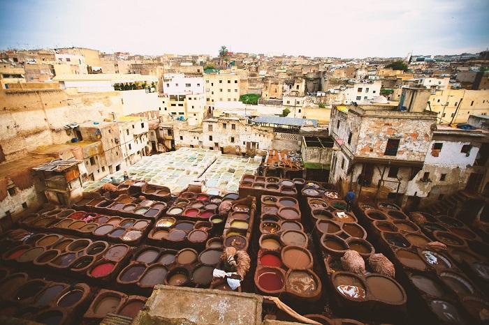 Fès, die älteste Königsstadt Marokko
