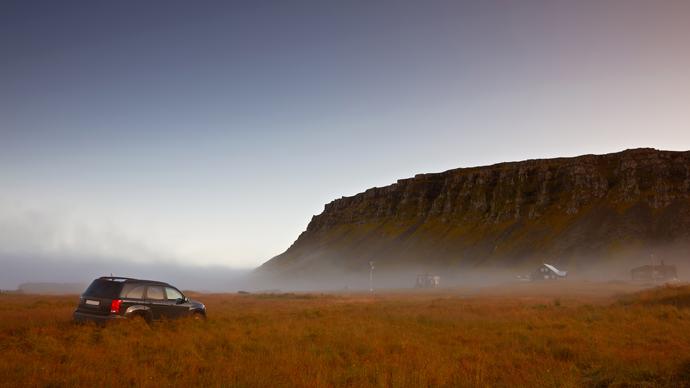 Verkehrsregeln weltweit Island