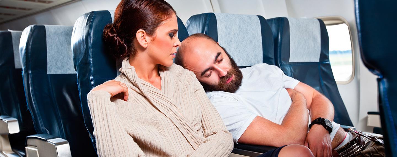 Dating während des Fluges