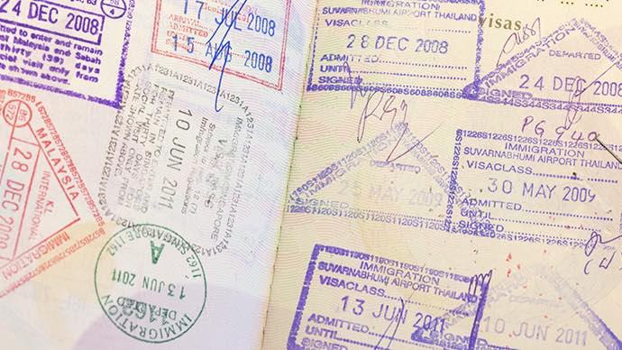 Touristenfallen in Südostasien Visum