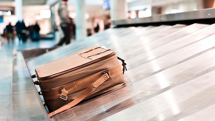 Gepäckstück ist auf Flug verloren gegangen