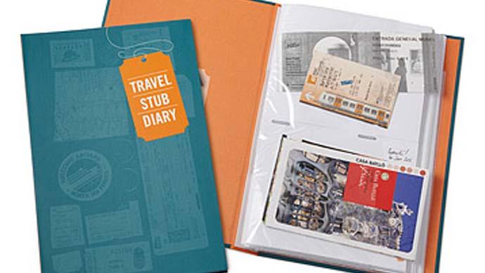 Reisetagebuch als Geschenk
