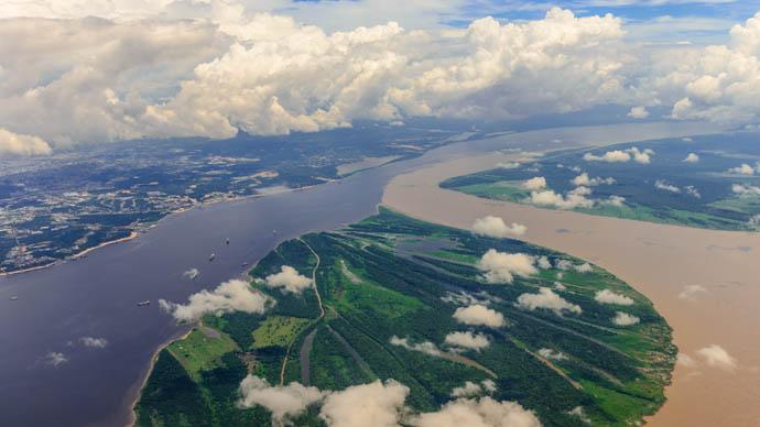 Malaria im Amazons-Gebiet