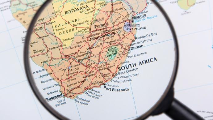 Impfung für Südafrika und Botswana