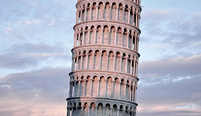 Reiseziele in Europa - Pisa