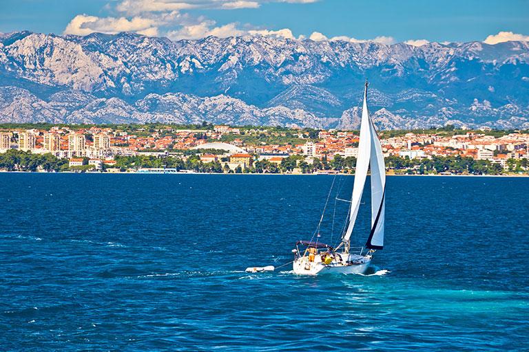 Reiseziele in Europa - Zadar