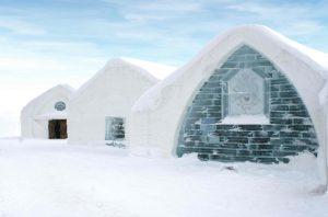 Luxus jenseits des Gefrierpunktes erwartet dich im Hotel de Glace in Québec