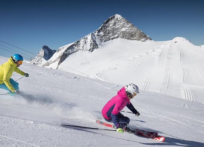 Hintertux Gletscher Skifahren im Herbsturlaub