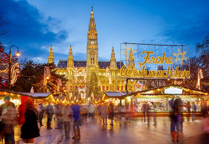 Weihnachtsmarkt Wien Rathausplatz