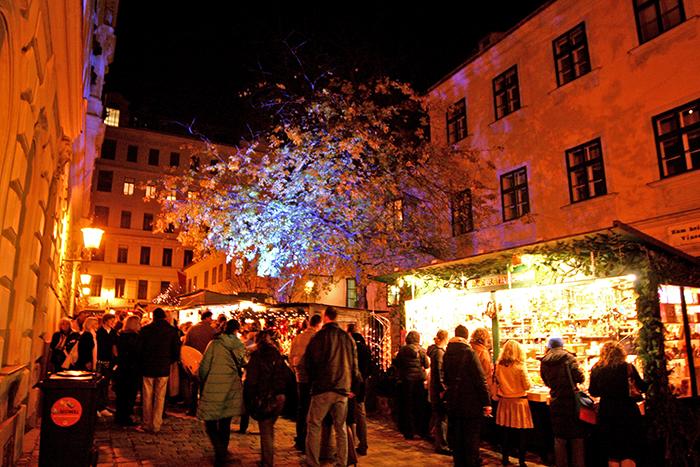 Weihnachtsmarkt am Spittelberg Wien