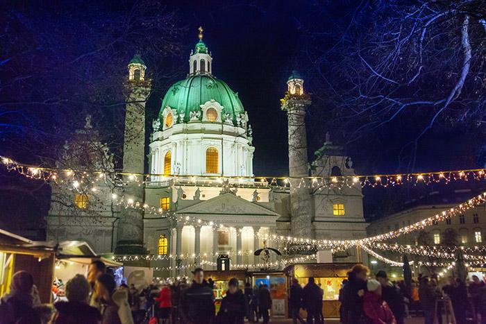Weihnachtsmarkt Wien Karlsplatz