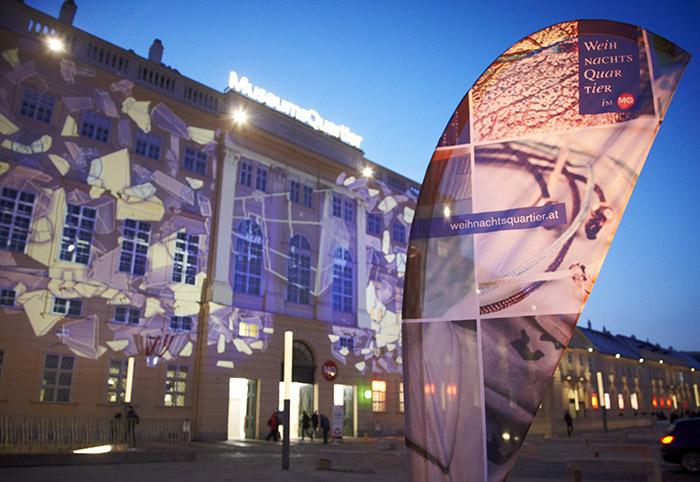 Weihnachtsmarkt MuseumsQuartier in Wien